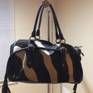 Adrienne Vittadini animal print shoulder bag